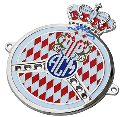 Automobile Club Of Monaco Grille Badge/emblem