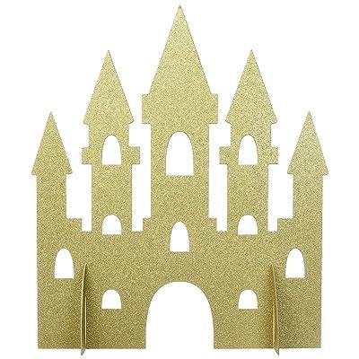 Gold Sparkle Castle Party Centerpiece: Toys & Games