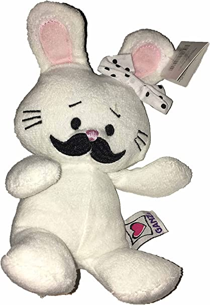 HE9985 NEW! Easter Ganz Moustache Bunny in Pink from Ganz