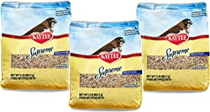 Kaytee 3 Pack of Supreme Bird Food for Finches, 2 Pounds Each