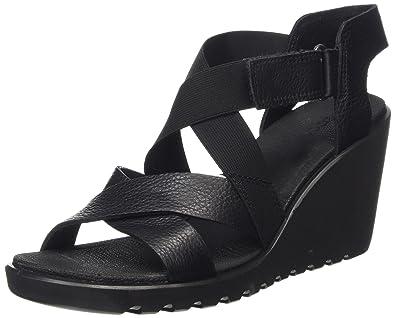 cabb7dce162e ECCO Footwear Womens Freja Strap Wedge Sandal