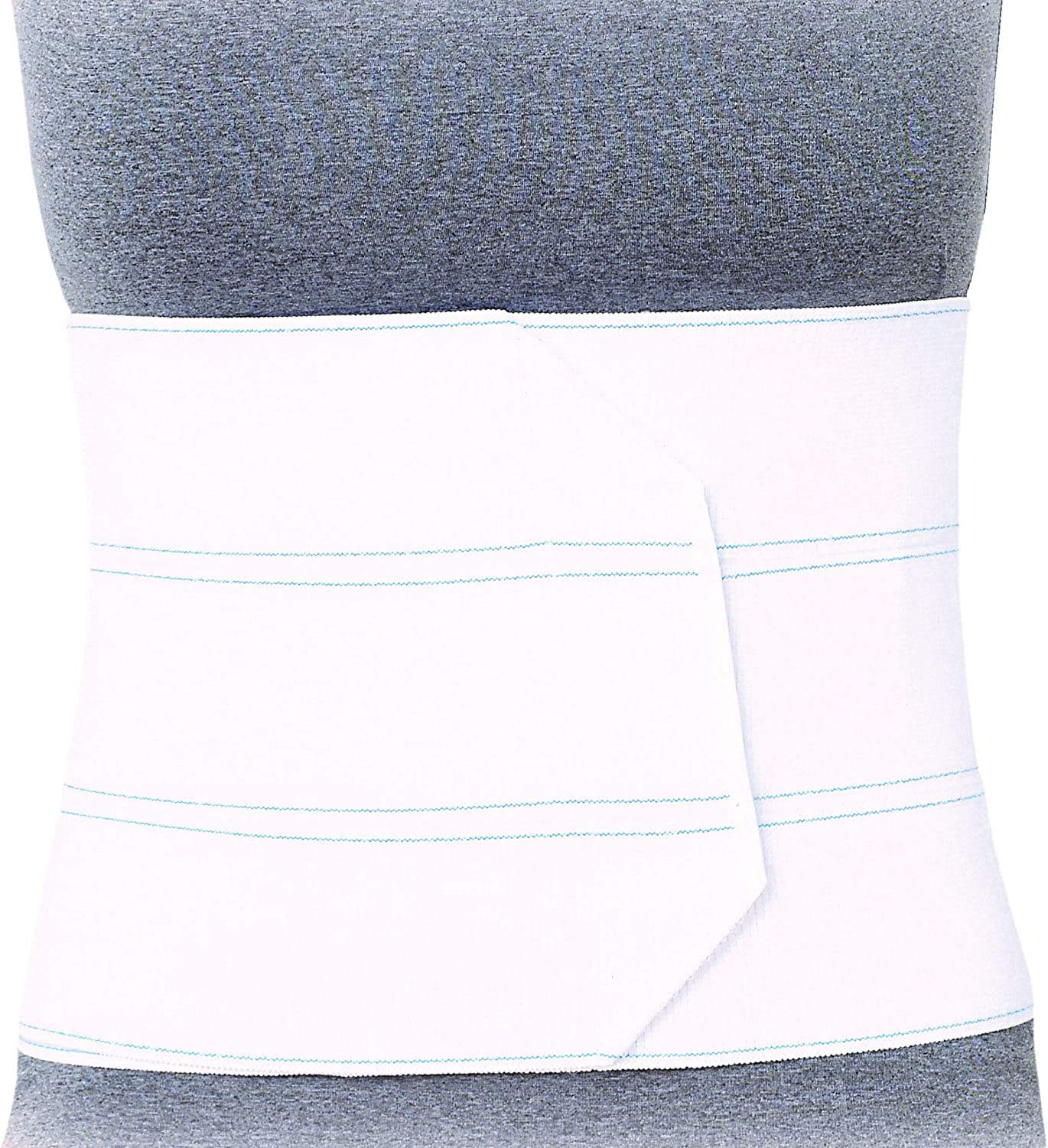 Superior Braces Premium Abdominal Binder for Waist and Back Support, Compression Wrap, Post Surgery Support (3 Panel - Large/X-Large, 45