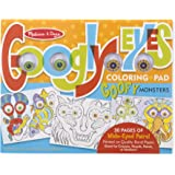 Melissa & Doug Googly Eyes Colouring Pad, Goofy Monsters
