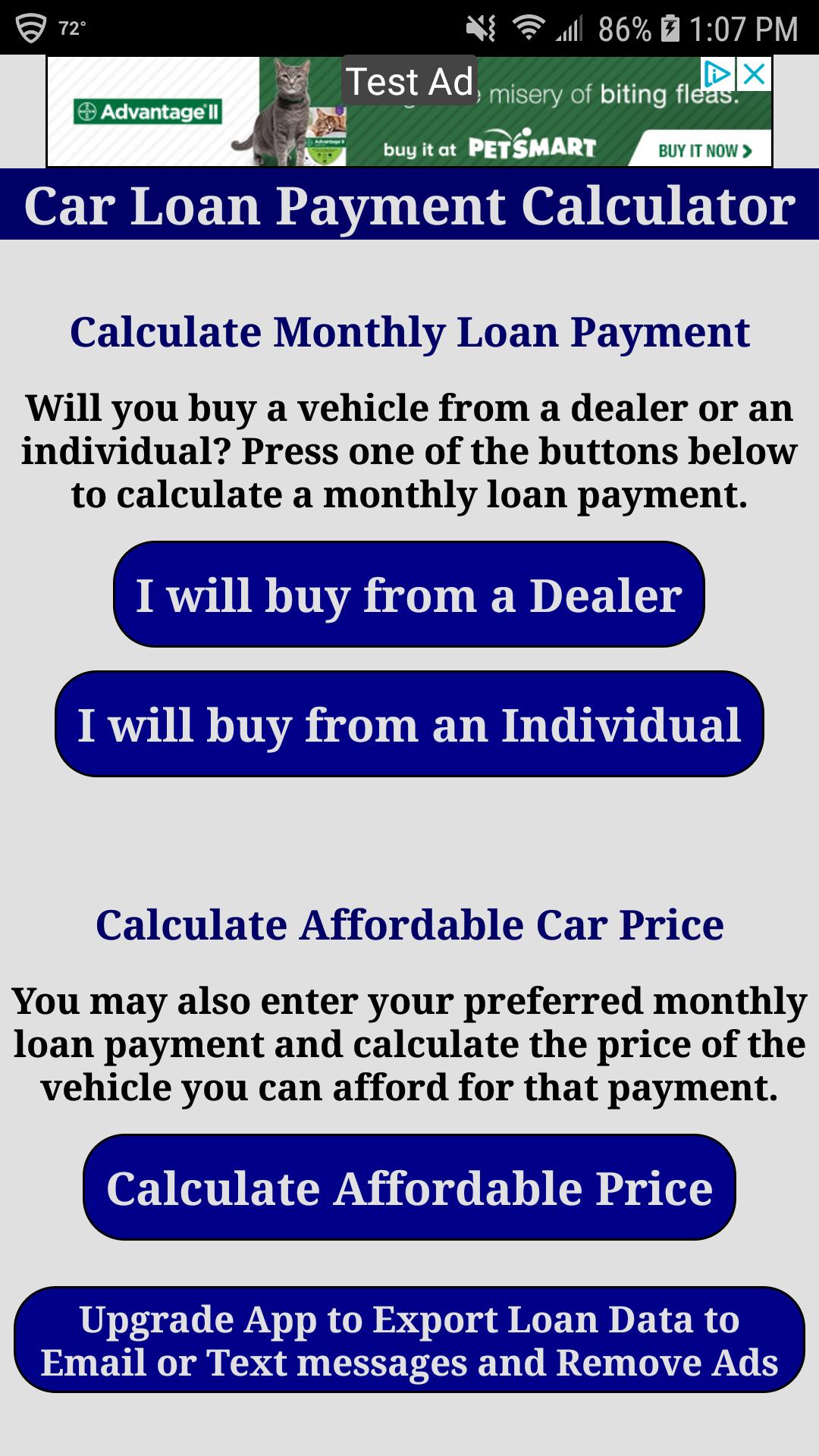 Car Loan Calculator App >> Car Loan Calculator Free
