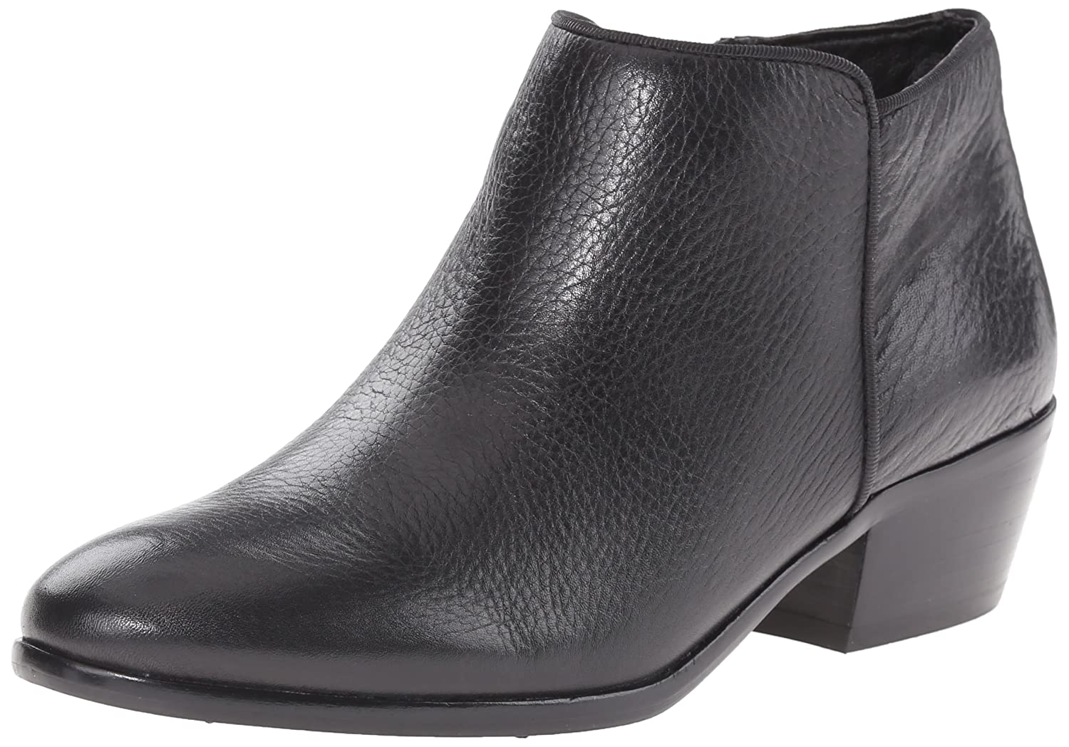 Black Leather Sam Edelman Women's Petty Boot