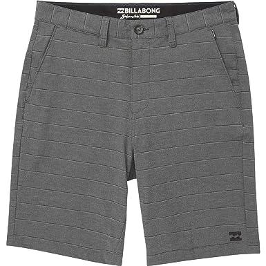 55b1b2f897 Billabong Boys' Crossfire X Stripe Shorts Black 30: Amazon.co.uk ...