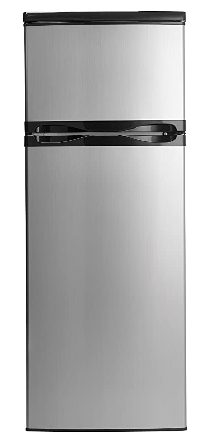 Danby DPF073C1BSLDD Designer 7.3 Cu. Ft. Apartment Size Refrigerator With  Freezer, Stainless Steel