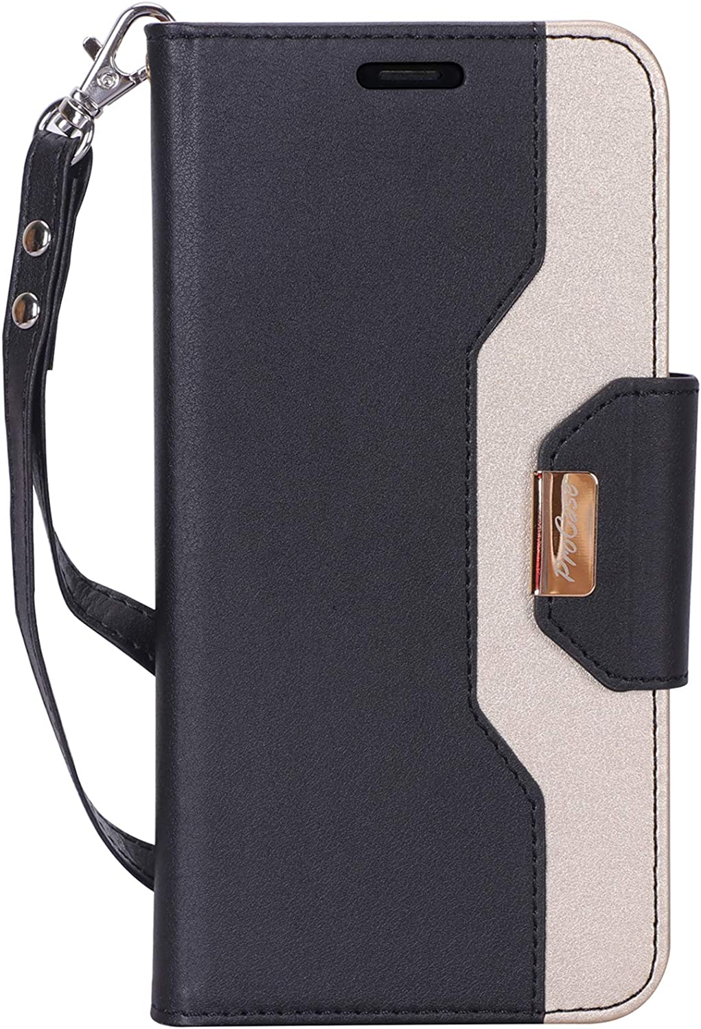 Cover for iPhone Xs Max Leather Card Holders Wallet case Extra-Protective Business Kickstand with Free Waterproof-Bag Judicious iPhone Xs Max Flip Case