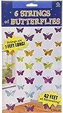 Amscan Decoración Colgante Mariposas