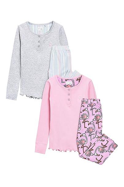 next Niñas Pack De Dos Pijamas con Flamencos (3-16 Años) Rosa 16