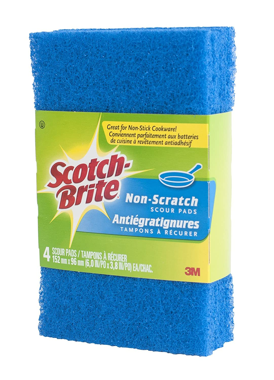 Scotch-Brite No Scratch Scour Pad CT060848331