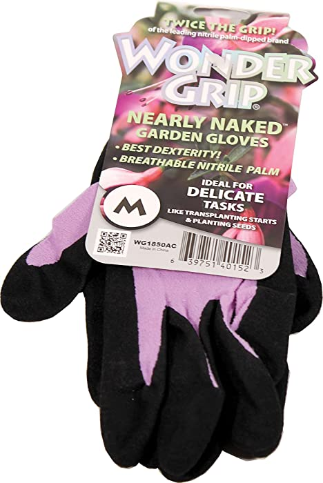 Top 9 Wonder Grip Nearly Naked Garden Gloves Small
