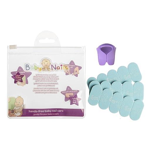 22 opinioni per Baby Nails- Lime Unghie per Bambini (6 mesi +) Lima Unghie Cura, Pulisce e