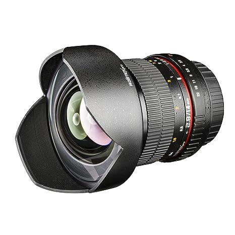 Walimex Pro 14 mm 1:2.8 - Objetivo para cámara réflex Samsung NX ...