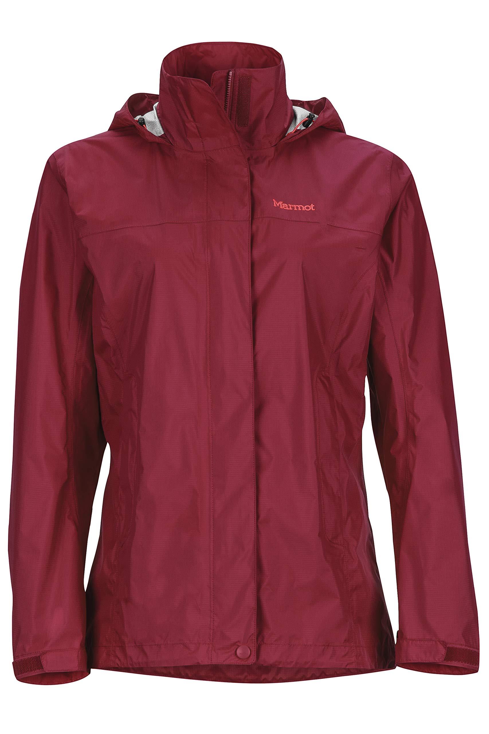 Marmot Women's Precip Jacket, Sienna Red, X-Small