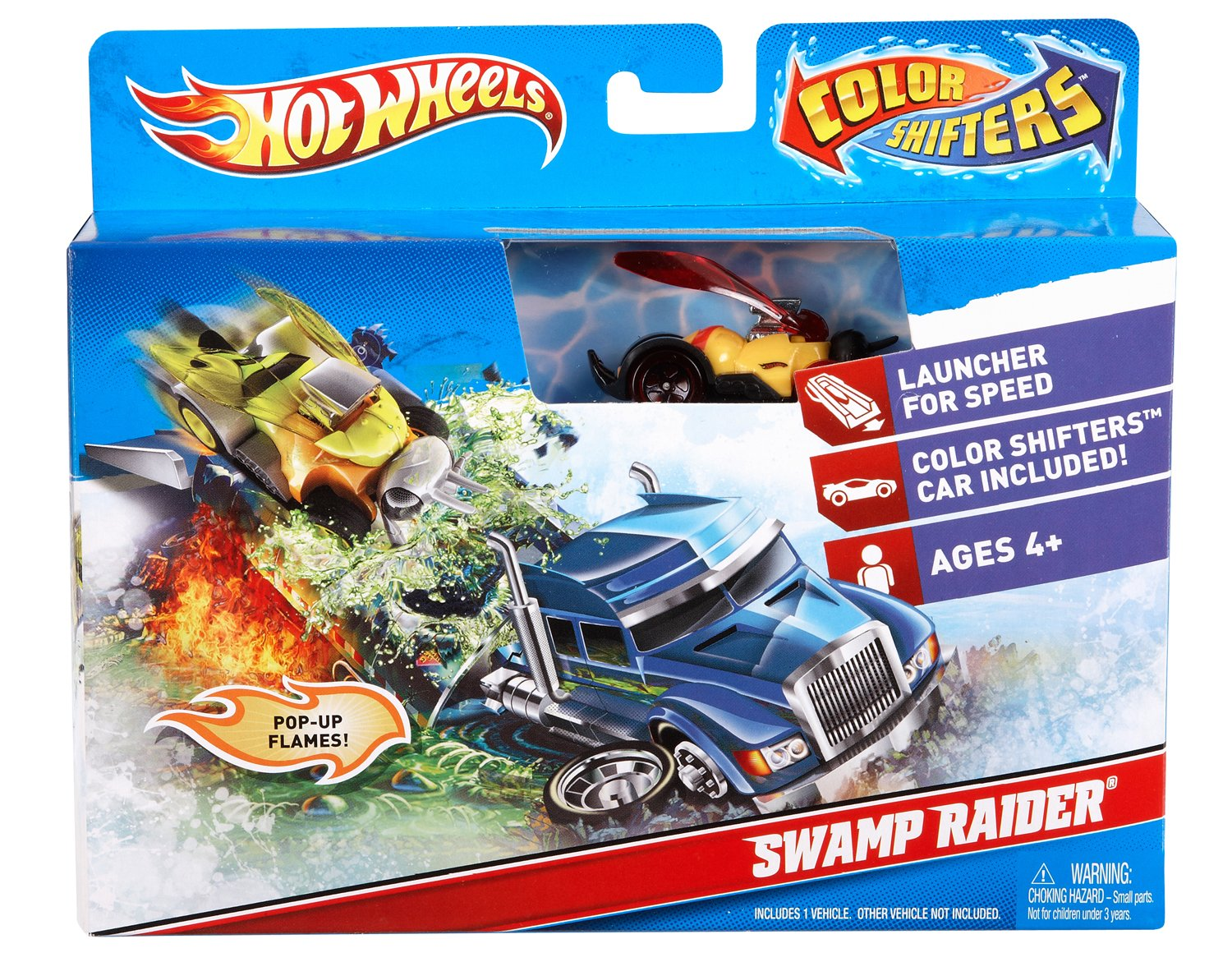 Colour changing car technology - Buy Mattel V4376 Hot Wheels Color Shifters Swamp Raiders Playset Online At Low Prices In India Amazon In