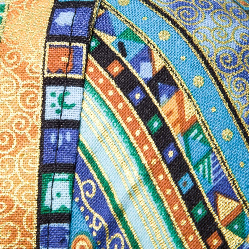 Blue, S ZAFUL Mens Casual Jacquard Print Short Sleeve Slim Fit Button Up Summer Shirt