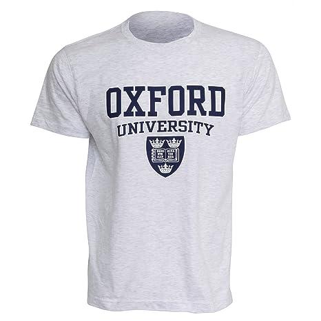 Oxford University- Camiseta de manga corta para Hombre: Amazon.es: Ropa y accesorios