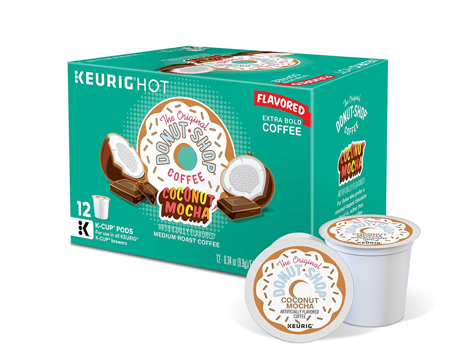 The Original Donut Shop Keurig SingleServe KCup Pods Medium Roast