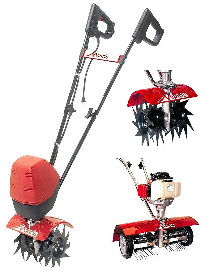 Mantis motoazada eléctrica con kit de cuidado de césped ...
