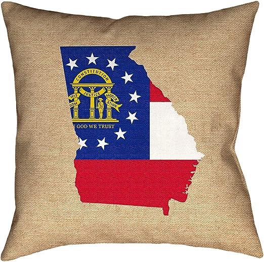 ArtVerse Katelyn Smith 20 x 20 Spun Polyester Maryland Pillow