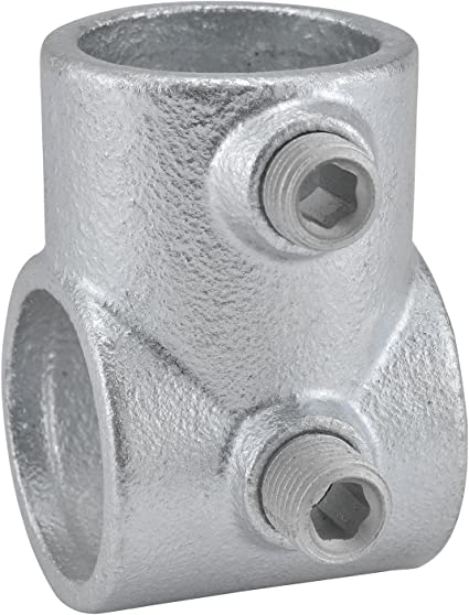 8 Pack Kee Malleable Iron Pipe Rail Fitting 1-1//2 Inch Pipe Swivel Flange