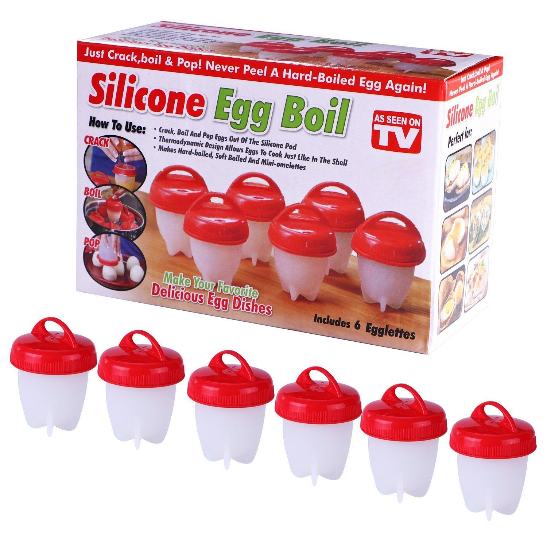 Amazon.com: Huevo Maker COCEDOR de huevos duros sin la ...