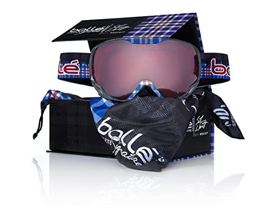 Amazon.com: Bollé Emperor – Gafas de esquí (lente de Seth ...
