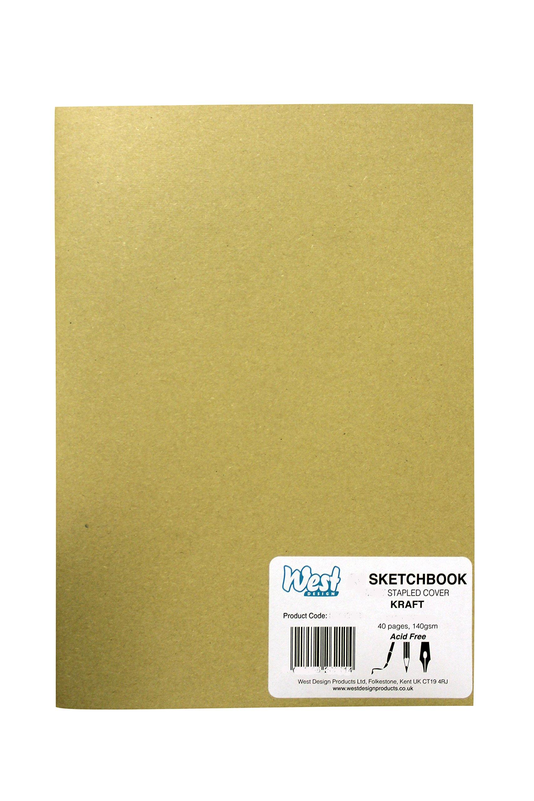 RS262053 A3 Sketchbook MATT Kraft 140g