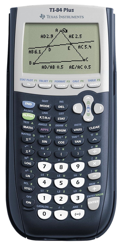 Texas Instruments TI Calculadora gráfica USB pantalla LCD azul
