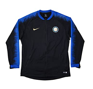 6ad3e472d Men's Official 2018-2019 Inter Milan Anthem Jacket 920056-011 Black (XLarge)
