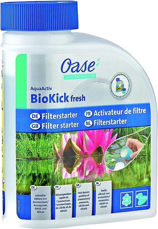 Oase AquaActiv BioKick Fresh Accesorio para estanques y Fuentes de jardín - Accesorios para estanques y Fuentes de jardín (Gris, CE): Amazon.es: Jardín