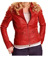 Once Upon a Time Emma Swan Red Leather Jacket ►Best Seller◄