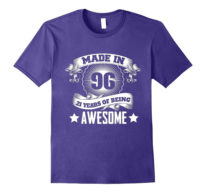 21st Birthday Gift Ideas For Men/Women. Born In 1996 T-Shirt-4LVS