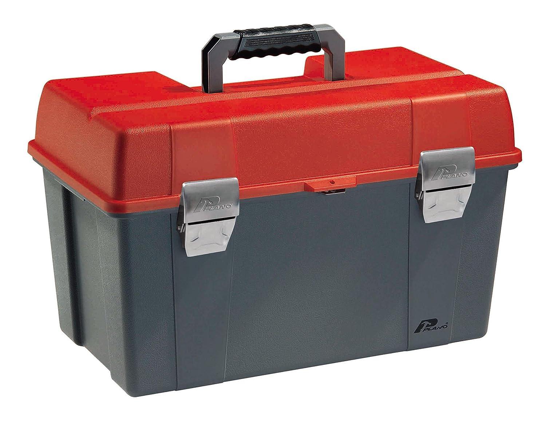 Plano 488311 Plastic Tool Box, Red/Grey, 56 x 34 x 34 cm 17021ZR