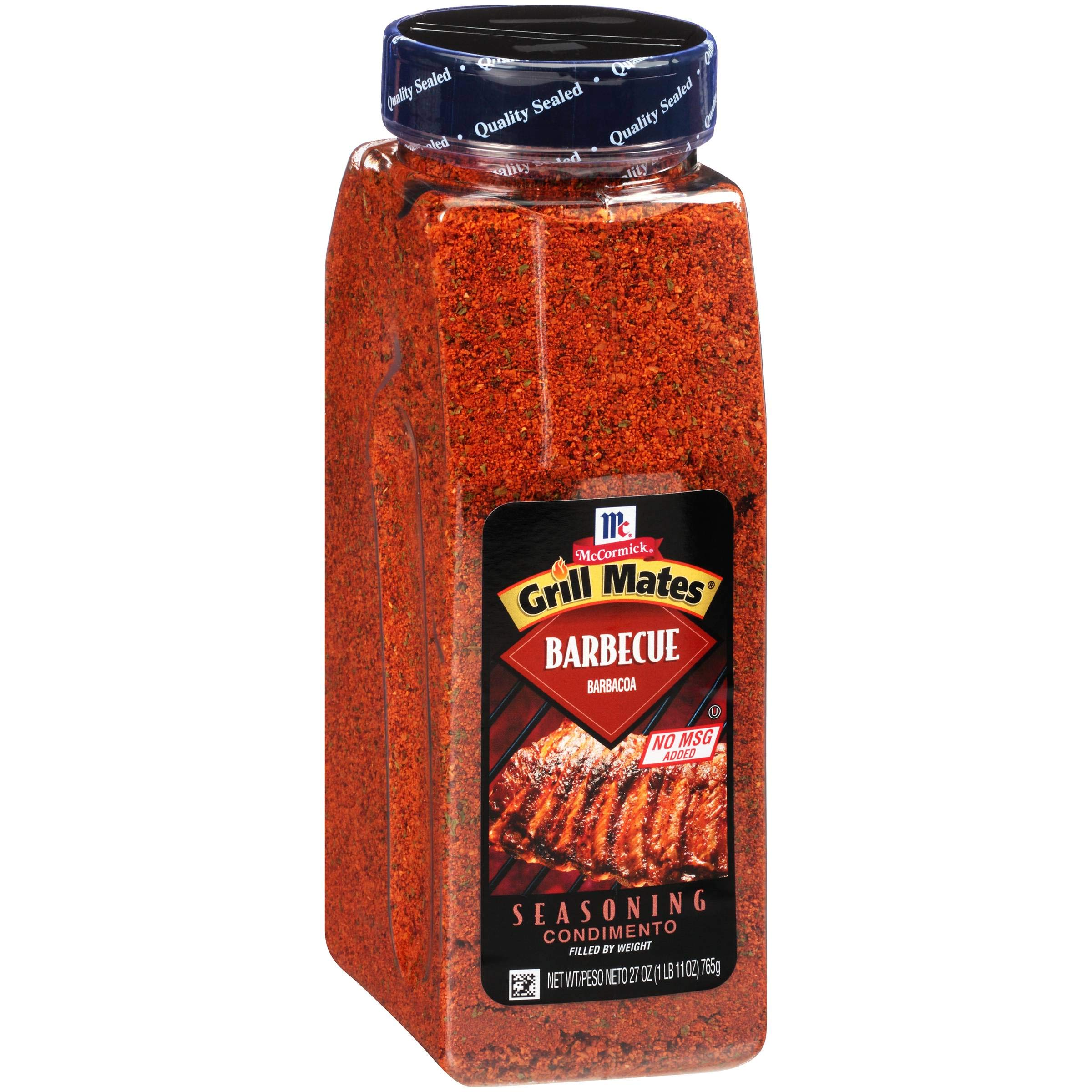 McCormick Grill Mates Barbecue Seasoning, 27 Ounce - 6 per case.