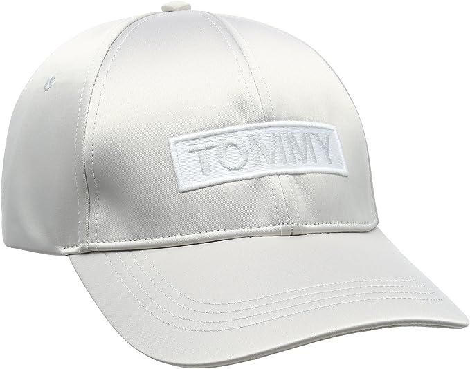 Tommy Hilfiger Tjw Satin Cap Gorra de béisbol para Mujer: Amazon ...