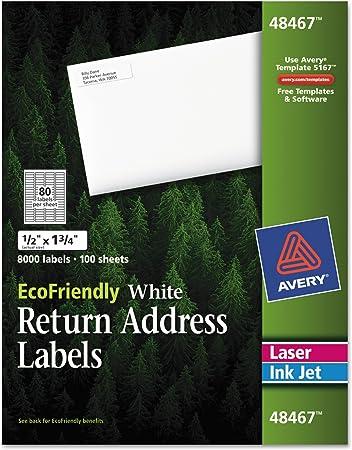 return address labels set of 75 Covington green
