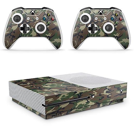 2 opinioni per GNG Adesivi In Vinile Per Xbox One S Con Il Logo Di CAMO Per Console E Per 2x