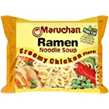 Maruchan Ramen, Creamy Chicken, 3-ounce (Pack of 48)