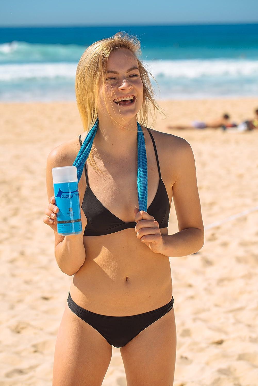 ZiggyTowel - Cooling Towel, Microfiber Evaporating Cooling Towel, Instant Cooling Snap Towel, Sports Towel - Perfect for Any Sport Activities