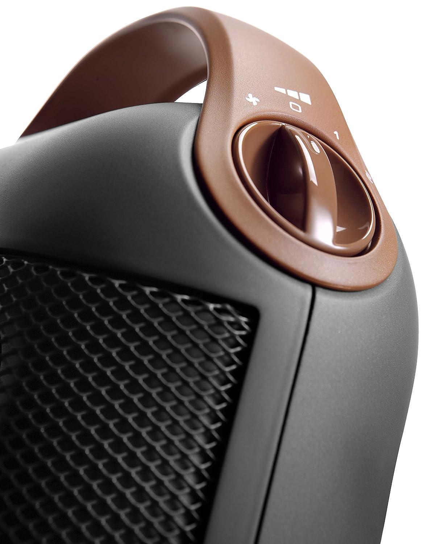 Antracite DeLonghi HFX30C18.AG Termoventilatore Ceramico Verticale
