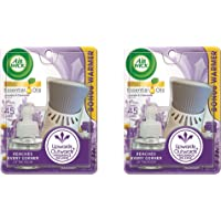 Air Wick Plug in Scented Oil, Starter Kit, Lavender & Chamomile 1ct, Essential Oils, Air Freshener, Pack 2