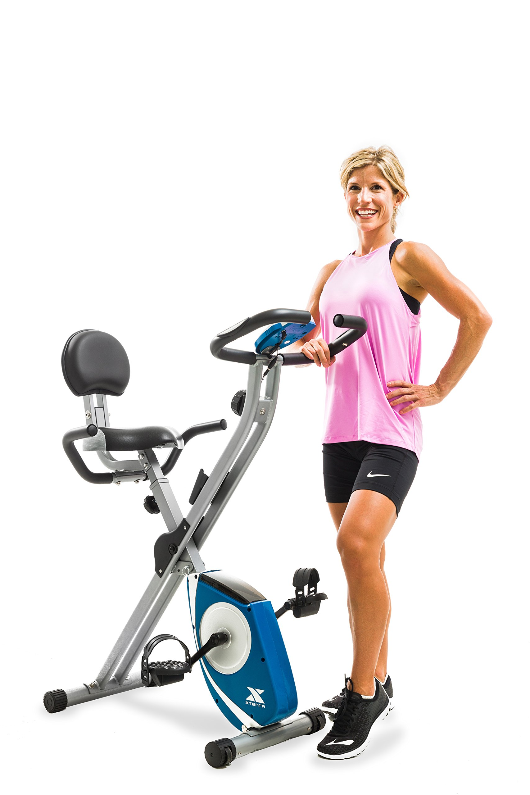 XTERRA Fitness FB350 Folding Exercise Bike, Silver by XTERRA Fitness (Image #11)