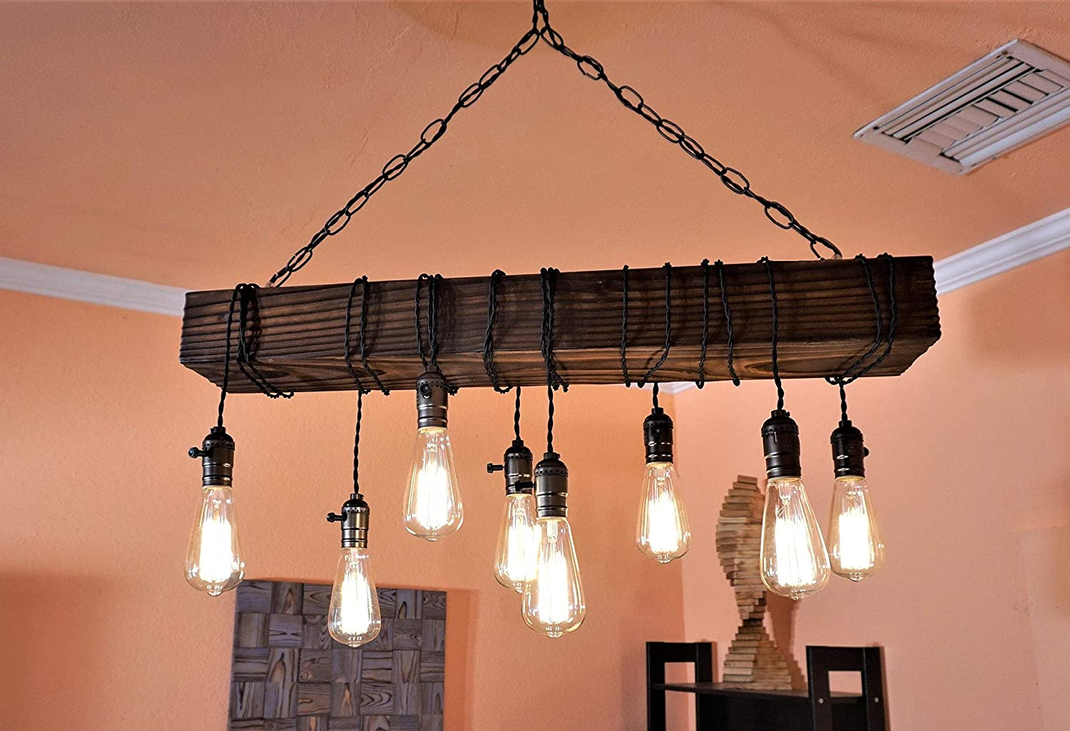 Farmhouse chandelier wood chandelier rustic chandeliers chandelier wood beam chandelier farmhouse lighting wood chandelier rustic lighting rustic