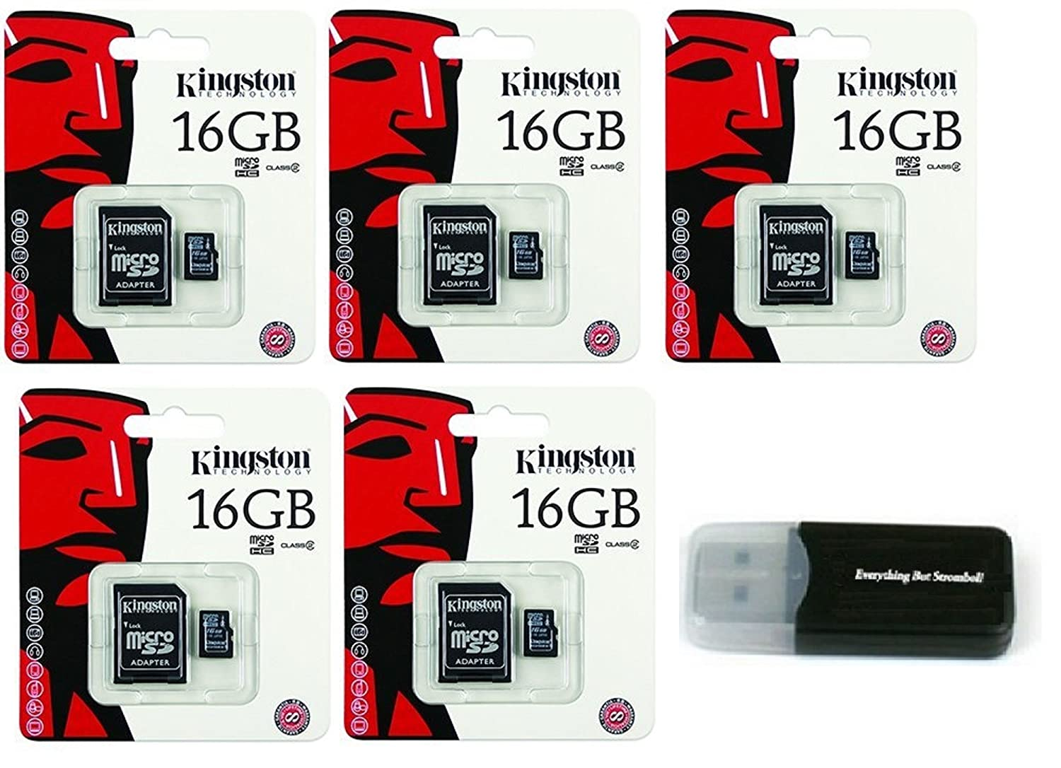 Amazon.com: Kingston - Tarjeta de memoria MicroSD HC clase 4 ...