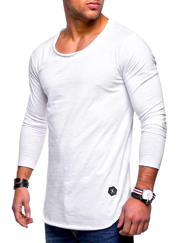 fa366e5b84c382 ... Rello   Reese Herren Oversize Longsleeve Crew Neck Sweatshirt T-Shirt MT-7315  MT ...