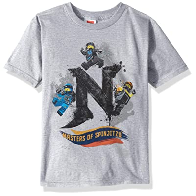 LEGO Boys' Ninjago Masters of Spinjitzu Soft Tee Shirt: Clothing