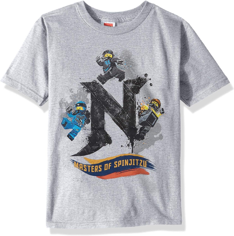 LEGO Boys' Ninjago Masters of Spinjitzu Soft Tee Shirt