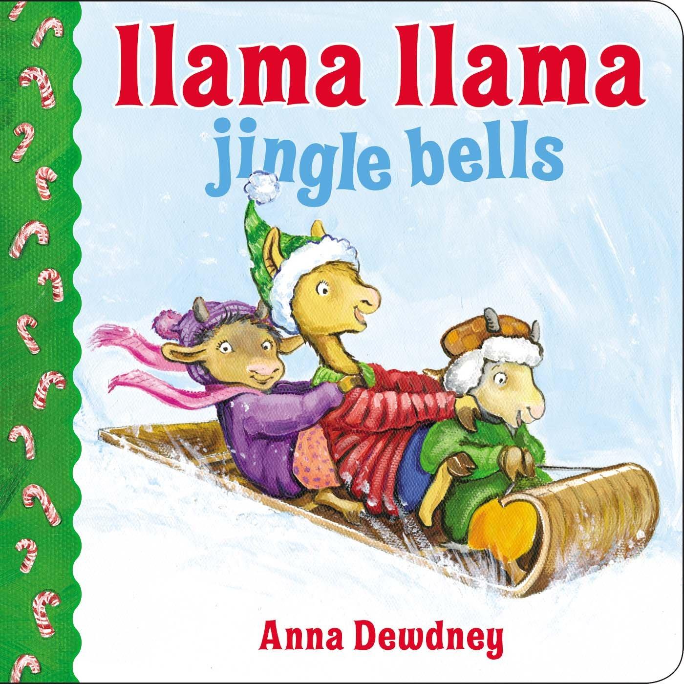 Llama Llama Jingle Bells: Anna Dewdney: 9780451469809: Amazon.com ...